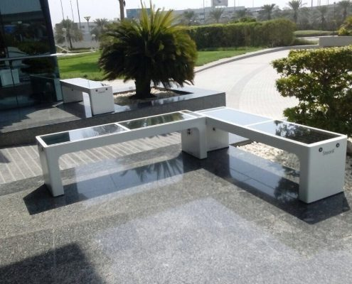 Steora smart bench UAE - Dubai